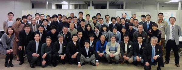 Рис. 3: Команда чиновников префектуры Миядзаки