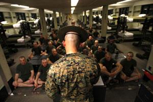 Новобранцы армии США