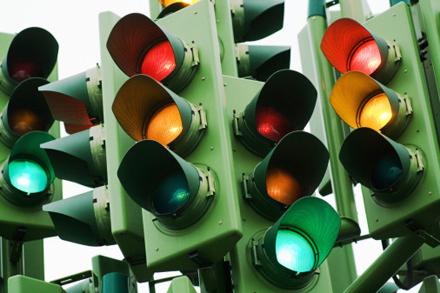 Когда светофор не нужен