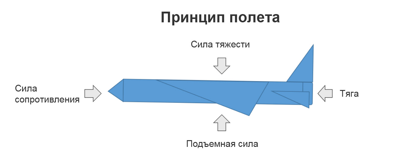 Принцип полета